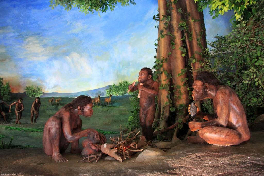 Gambaran Orang Purba dari Situs Sangiran