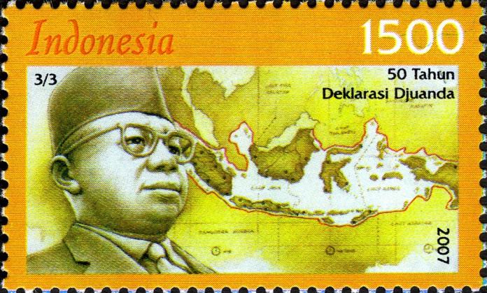 Djuanda Kartawidjaja adalah orang yang paling berjasa melahirkan deklarasi yang disebutsesuai namanya, Deklarasi Djuanda.
