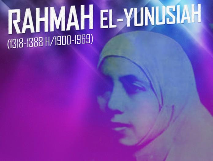 Rahmah el-Yunusiah, Pejuang Muslim bagi Pendidikan Kaum Hawa