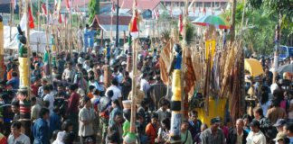 Tiwah merupakan upacara pemakaman kedua dan menjadi akhir atau puncak rangkaian upacara kematian dalam kepercayaan Hindu Kaharingan.