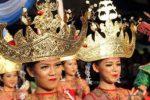 Mahkota Siger khas Lampung