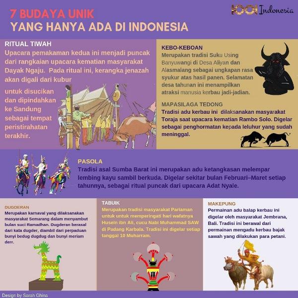 7 budaya unik