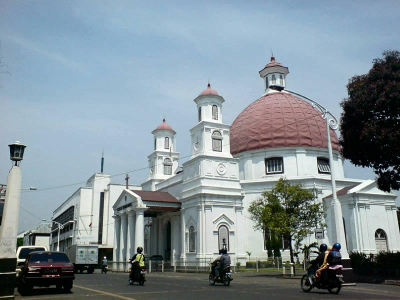 Gereja Blenduk, Ikon Kota Lama Semarang