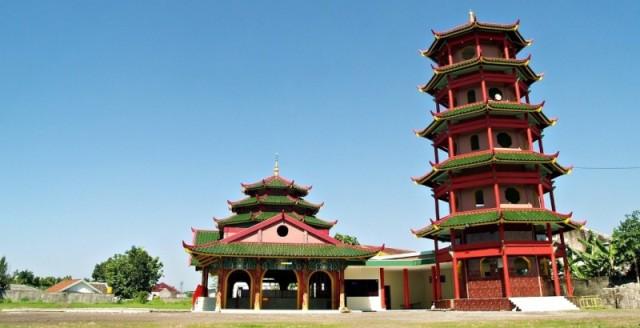 Masjid Cheng Ho di Jember (Foto: na2warsita.blogspot.com)
