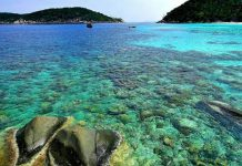 Pesona Perairan Anambas di Kepulauan Riau