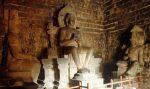 Tiga Arca Buddha di Candi Mendut