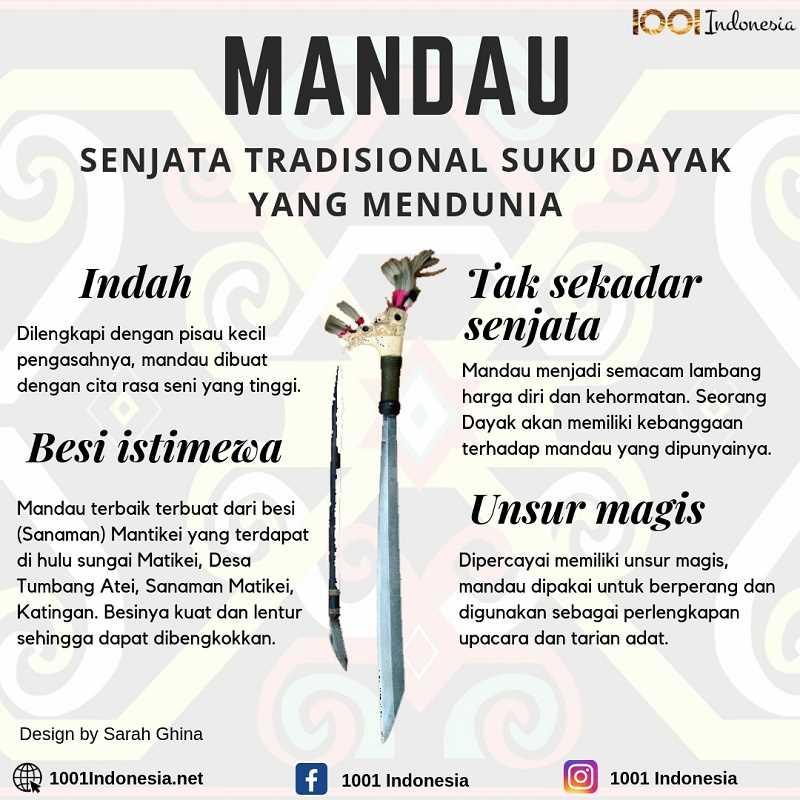 Infografis Mandau