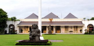 Gedung Agung atau Istana Kepresidenan Yogyakarta