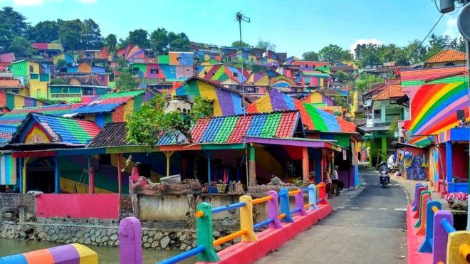 Kampung Pelangi Semarang, Jawa Tengah