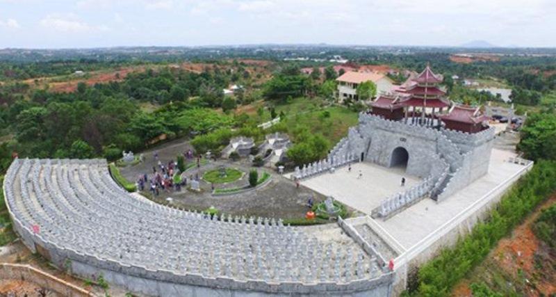 Vihara Kistigarbha Bodhisattva, Terbesar di Asia Tenggara