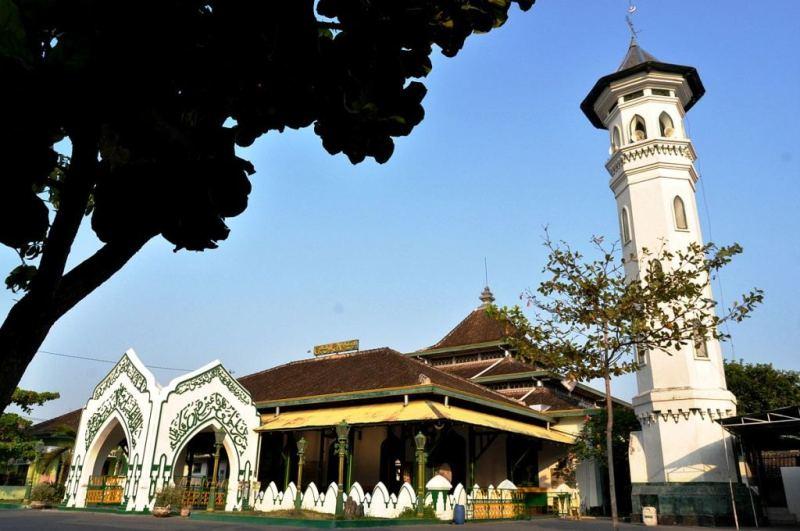 Masjid Al Wustho, Masjid Keraton Pura Mangkunegaran