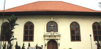 Gereja Portugis atau yang kini dikenal sebagai Gereja Sion Jakarta merupakan gereja tertua di Jakarta.