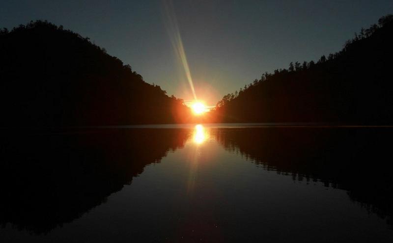 Matahari terbit di Ranu Kumbolo