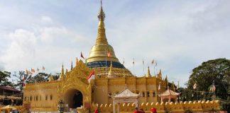pagoda taman alam lumbini