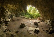 Gua Liang Bua, tempat ditemukannya Homo Floresiensis.