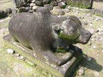 Patung Nandi di Candi Gunung Wukir