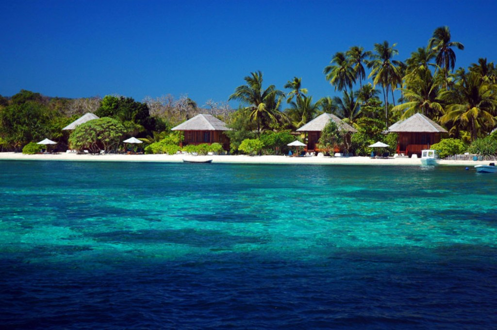 Pulau Hoga di Kepulauan Wakatobi (Foto: erepublik.com)