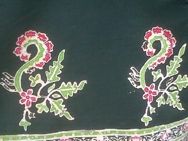 Batik Bangywangi dengan motif gajah oling. (Foto: banyuwangibagus.com)
